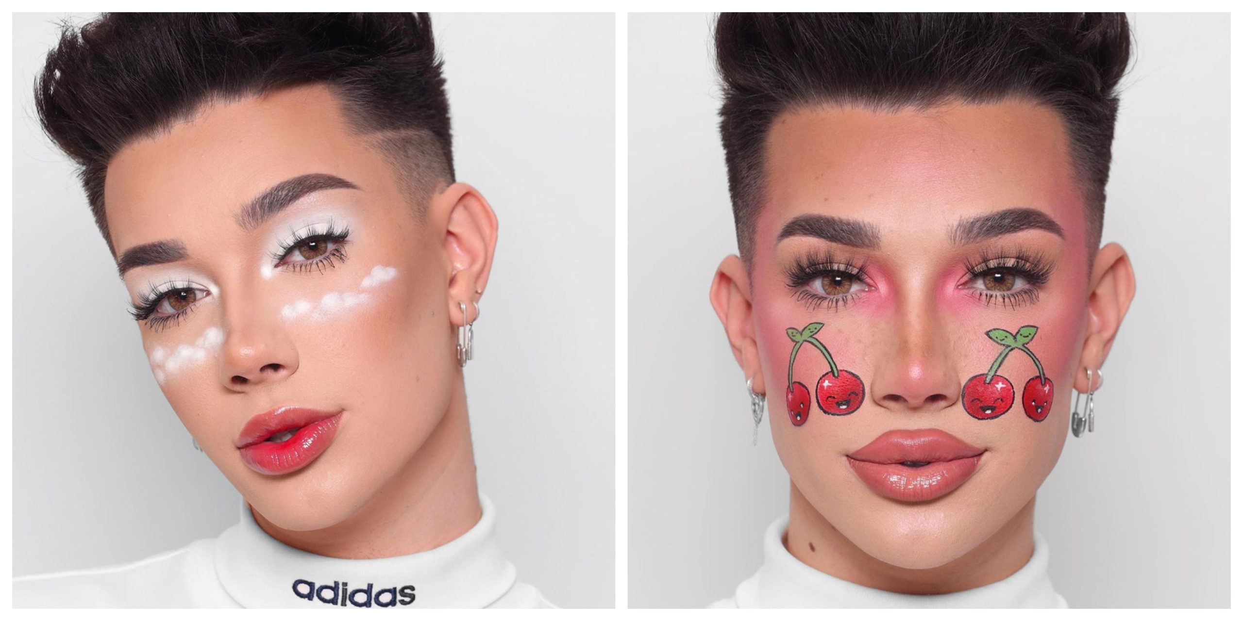 We Are Obsessed With James Charles Latest Make Up Looks Kiss
