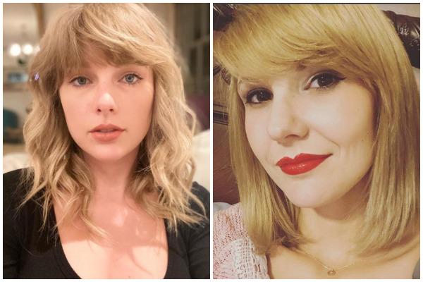 So This Tiktoker Looks Exactly Like Taylor Swift Kiss